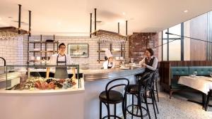 Brasserie Fritz seafood bar